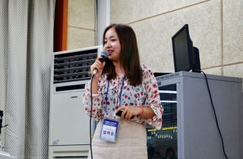 Yum Ha-eun, the first co-representative of Division of Mechanical and Biomedical Engineering, published a paper as a lead author.  Photo provided by Yum Ha-eun