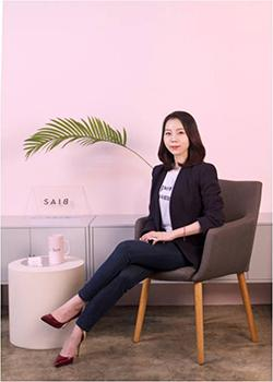Park hopes to change biased perceptions on sex and women withher company.​​​​​​​Photo provided by SAIB & Co.
