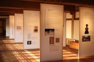 Ewha Archives held the special exhibition from November to next year to honor the history of Ewha and Esther Kim Pak. Photo by Ko Yu-seon.
