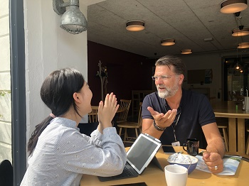 Ewha Voice met Erik Olsson from Innovation Game to talk about PBL in action. Photo by Ewha Voice.