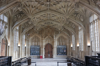 The 15th century Divinity School, where students debated inorder to graduate. Photo by Ryu Seo-yeon