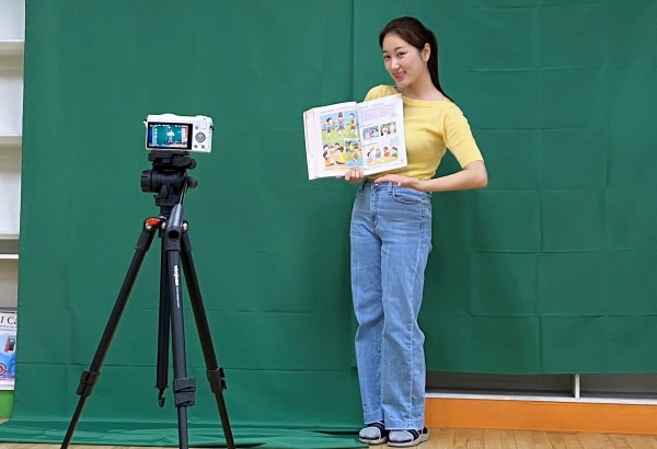 Kelly Kim, elementary teacher by day, YouTuber by night.Photo provided by Kelly Kim.