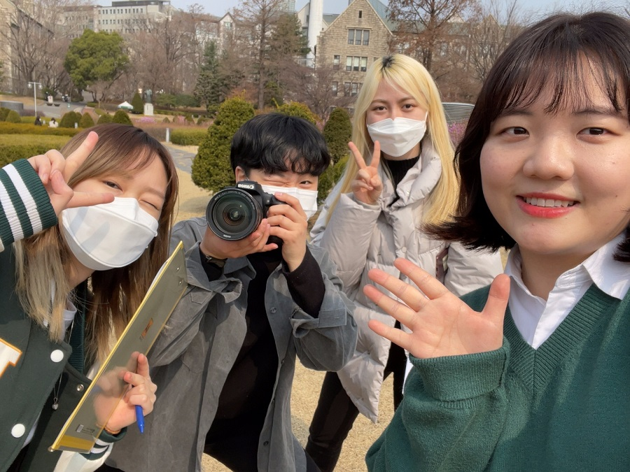 "Five-language version of JoA Project's song ""On Your Way"" unites Ewha students"